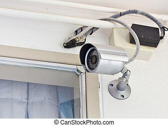 segurança lar, câmera