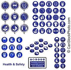 segurança, saúde