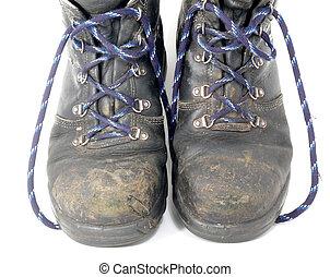 segurança, sapatos