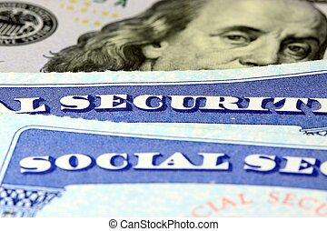 segurança social, aposentadoria, renda