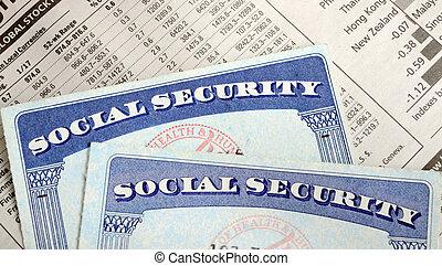 segurança social, aposentadoria, renda, &