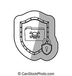 segurança, tecnologia, sistema