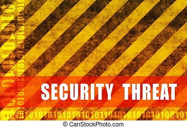 seguridad, amenaza