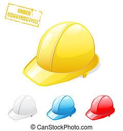 seguridad, cascos