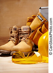 seguridad, construcción