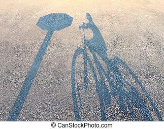 seguridad de la bicicleta