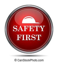 seguridad primero, icono