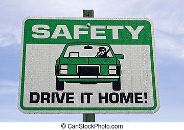seguridad, señal