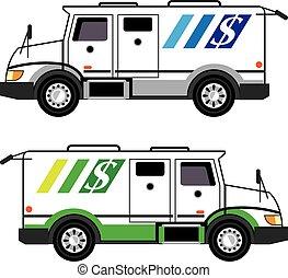 seguridad, vehículo blindado