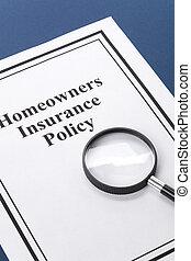 seguro de los dueños de una casa