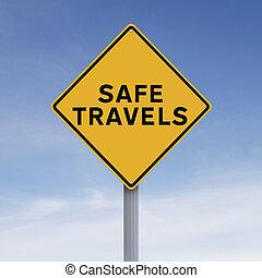 seguro, viajes