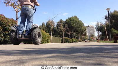 segway ride in the park