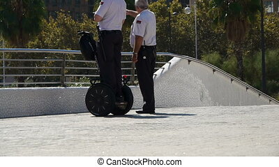 segway security guard