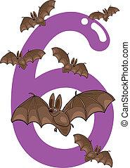 sei, pipistrelli, numero 6