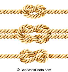 seil, knots