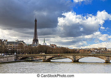 Seine cloudscape