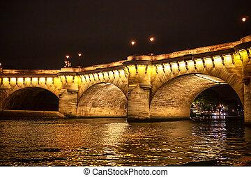 seine rivier, parijs