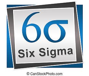 seis, sigma, símbolo, e, texto, azul, cinzento