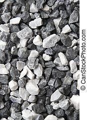 seixo, pedras