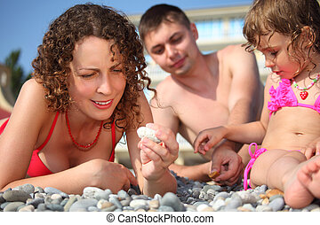seixo, swimwear, família