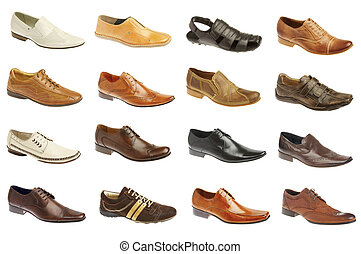seize, chaussures, homme