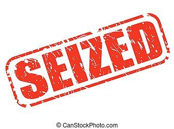 SEIZED red stamp text