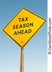 seizoen, belasting, vooruit