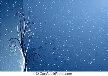 seizoenen, abstract, achtergrond