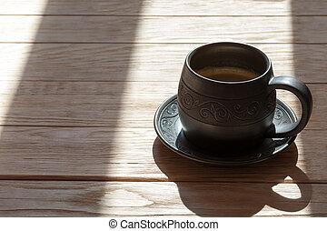 sejdel, handgjord, kaffe, keramik