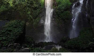 Sekumpul Waterfall in Bali, Indonesia