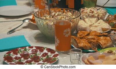 Selbstgemacht, Kochen Essen, Tisch