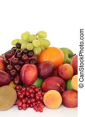 seleção, fruta
