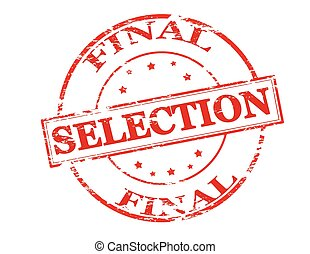 selección, final