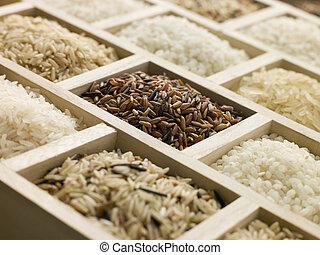 selección, rices