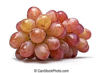 seleccionar, lavado, freshly, uvas, um