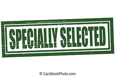selecionado, specially
