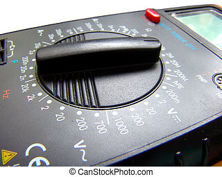 An electrical tester function selector