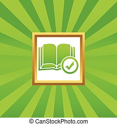 Select book picture icon