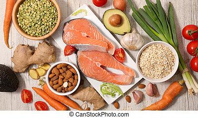 selectie, gezondheid voedsel