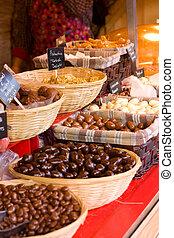 selection., chocolate