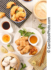 selection of asian cuisine