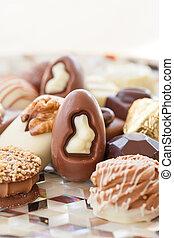 Selection of chocolates