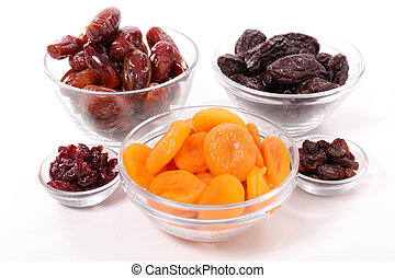 selection of dry fruit