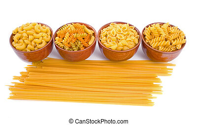 Selection of Dry Pasta