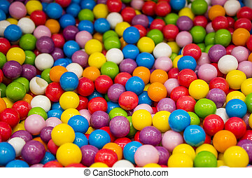 Selection of gumballs - A selection of gumballs