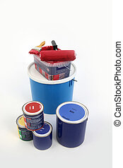 Selection of painting equipment