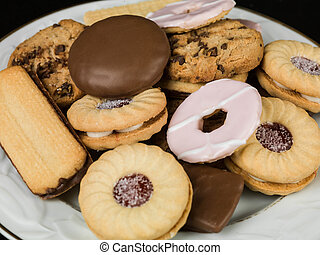 Selection of Teatime Biscuit Snacks