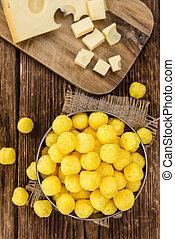 (selective, queijo, bolas, focus)