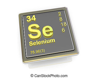 Selenium. Chemical element.