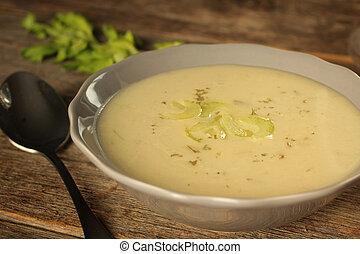 seler, zupa